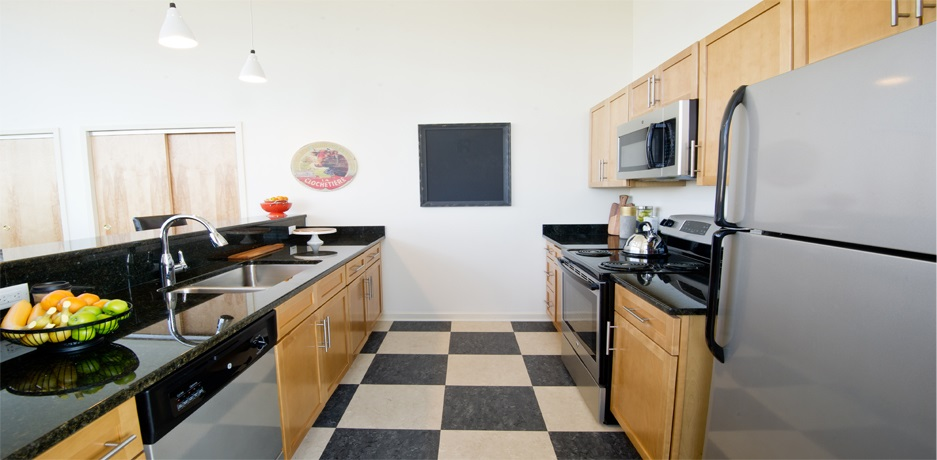 Top-quality renovated commercial lofts and stylish new luxury apartments in Downtown Hartford CT.