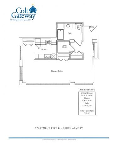 Floor Plans Colt Gateway Luxury Apartments Hartford Ct