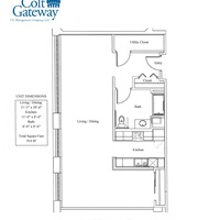 Suite 532 - Large Open Floor Plan Studio - June Move- In